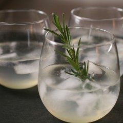 Charred Rosemary-Infused Vodka